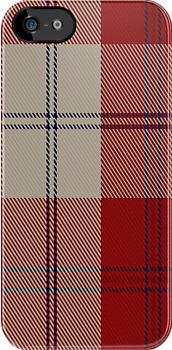 01498 Torridon Cherry Fashion Tartan Fabric Print Iphone Case by Detnecs2013