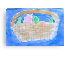 'Easter Basket' by Xavier Canvas Print