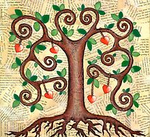 Tree of Hearts by Lisafrancesjudd