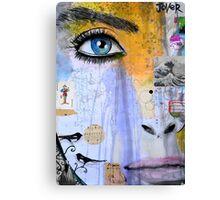 voice inside Canvas Print