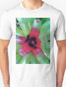 Bromiliad Blooming Unisex T-Shirt