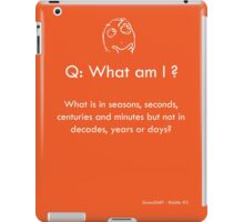 Riddle #3 iPad Case/Skin