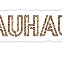 """MALDÉR """"BAUHAUS"""" Tee Sticker"""
