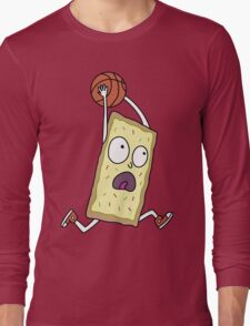 Rick & Morty - Dunking Poptart Long Sleeve T-Shirt
