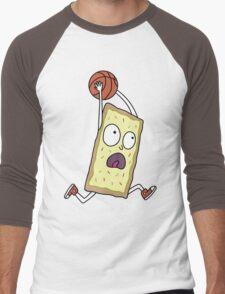 Rick & Morty - Dunking Poptart Men's Baseball ¾ T-Shirt