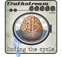 "Truthstream Media ""End Cycle"" Logo Photographic Print"