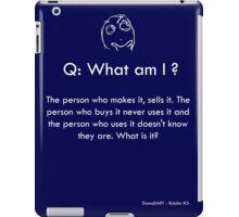 Riddle #5 iPad Case/Skin