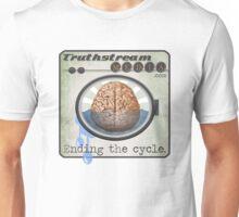 "Truthstream Media ""End Cycle"" Logo Unisex T-Shirt"
