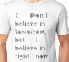 "MALDÉR ""Tomorrow Never Knows"" Tee (BRIGHT FABRICS) Unisex T-Shirt"