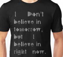 "MALDÉR ""Tomorrow Never Knows"" Tee (DARK FABRICS) Unisex T-Shirt"