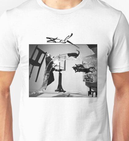 Dali Tshirt - Dali Atomicus T-Shirt by Philippe Halsman  Unisex T-Shirt