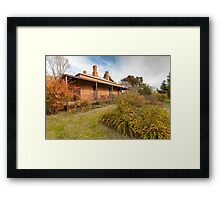 Lake View House, Chiltern Framed Print