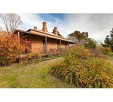 Lake View House, Chiltern Photographic Print