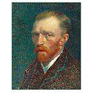 Vincent van Gogh - Self Portrait - Auto Portrait tshirt by lapart