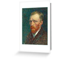 Vincent van Gogh - Self Portrait - Auto Portrait tshirt Greeting Card