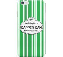 WDW Dapper Dans Name Tag - Green iPhone Case/Skin
