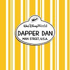 WDW Dapper Dans Name Tag - Orange by jdotcole