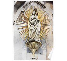 Statue of Madonna salutis portus  Poster