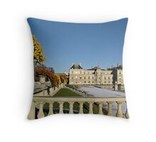 The Luxembourg Palace in Paris France Throw Pillow