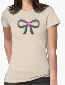 Little Mix Bow Tie Tee Womens Fitted T-Shirt
