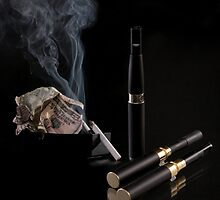 Electronic cigarette by EddieCrow