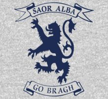 Saor Alba Free Scotland Forever T Shirt by simpsonvisuals