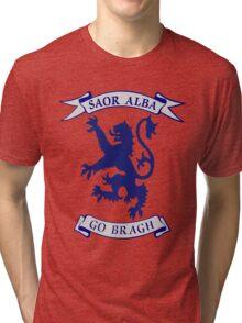 Saor Alba Free Scotland Forever T Shirt Tri-blend T-Shirt