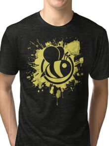 Bee Graffiti  Tri-blend T-Shirt