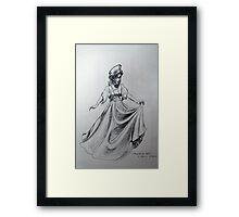 Anastasia Doll Framed Print
