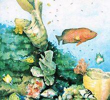 Coral Reef by ricksilverfish