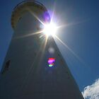 Lighthouse Eclipse by Guyzimij