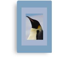 Penguin Portrait Canvas Print
