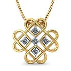 Princess Cut Diamond Pendant by shohil012