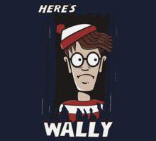 Here's Wally Kids Tee