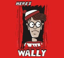 Here's Wally Kids Tee