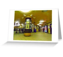 Manor House Tube station  Greeting Card