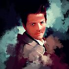 Castiel ~ Portrait by KanaHyde