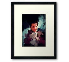 Castiel ~ Portrait Framed Print