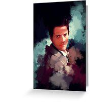 Castiel ~ Portrait Greeting Card