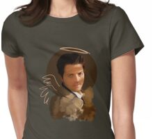 Castiel ~ Angel Womens Fitted T-Shirt