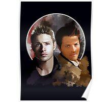 Cas & Dean Poster