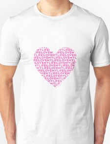 Words Are Powerful (Pank) Unisex T-Shirt