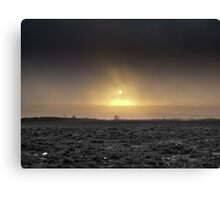 Desolate Landscape - Dark Cornwall Canvas Print