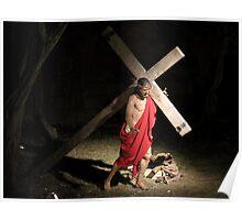 Jesus Carrying Tthe Cross Poster