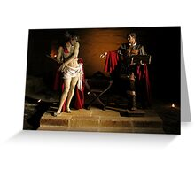 The Crowning With Thorns Greeting Card