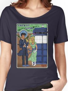 Doctor Who Nouveau Jump in my Tardis Women's Relaxed Fit T-Shirt