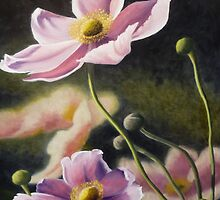 Playful Poppies by Mary  Thomas