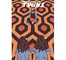 Congratulations It's Twins The Shining Horror Birthday Greetings Card Photographic Print