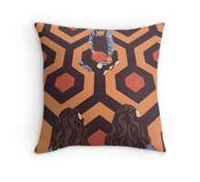 Congratulations It's Twins The Shining Horror Birthday Greetings Card Throw Pillow