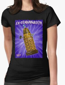 EX-TERMINATE! Womens Fitted T-Shirt